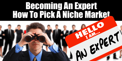 Becoming An Expert – How To Pick A Niche Market