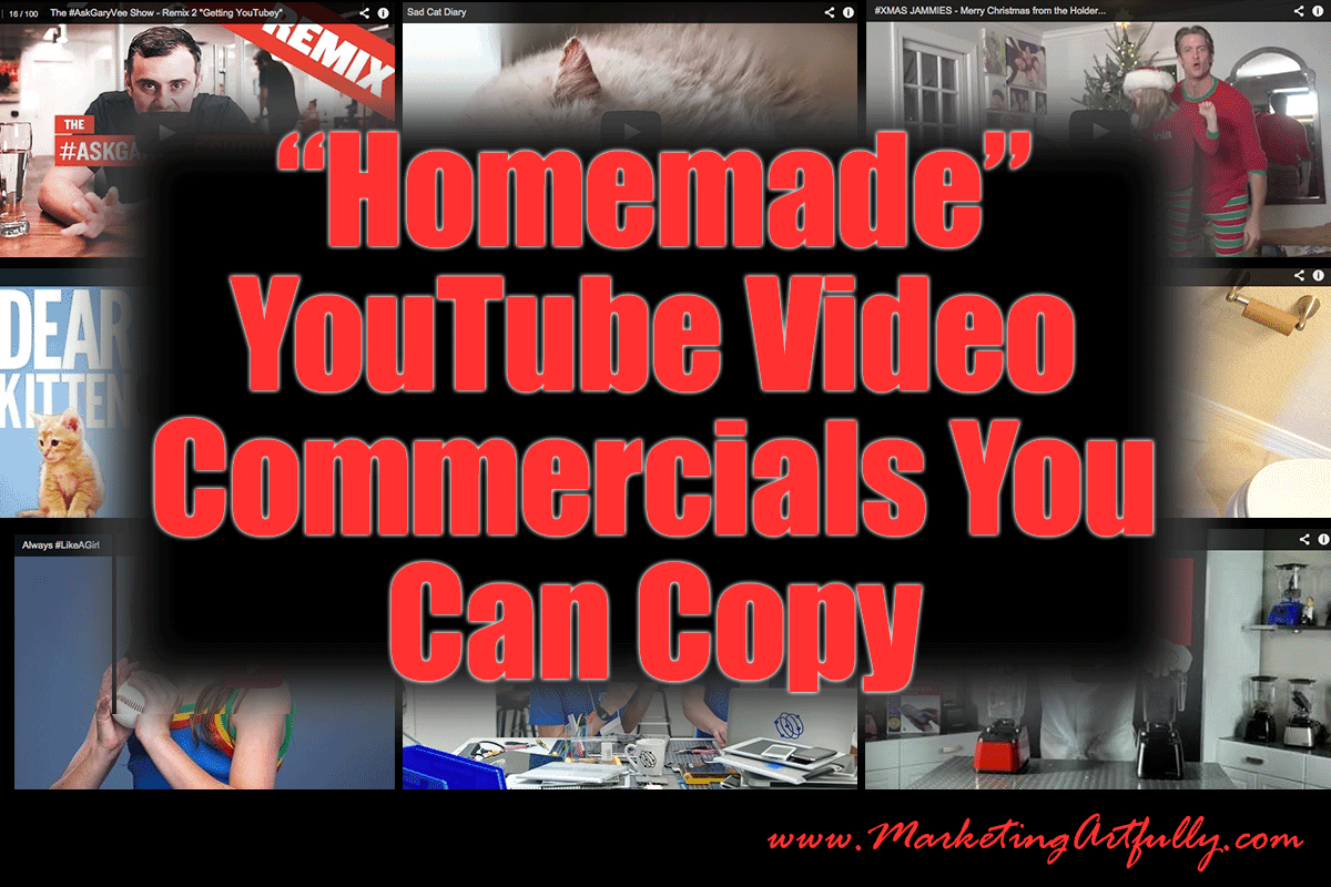 Homemade YouTube Videos That You Can Copy | Viral Video Marketing