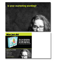 Marketing Artfully Postcards