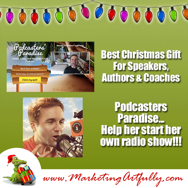 Best Christmas Presents for Speakers, Authors, Coaches and Trainers - Podcasters Paradise