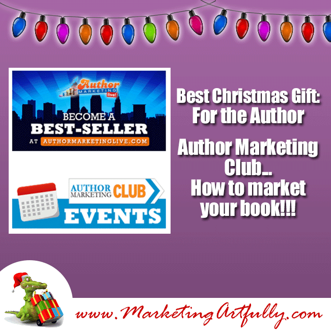 Author Marketing Club - Best Christmas Presents Authors