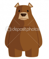 Cartoon Bear from Deposit Photos