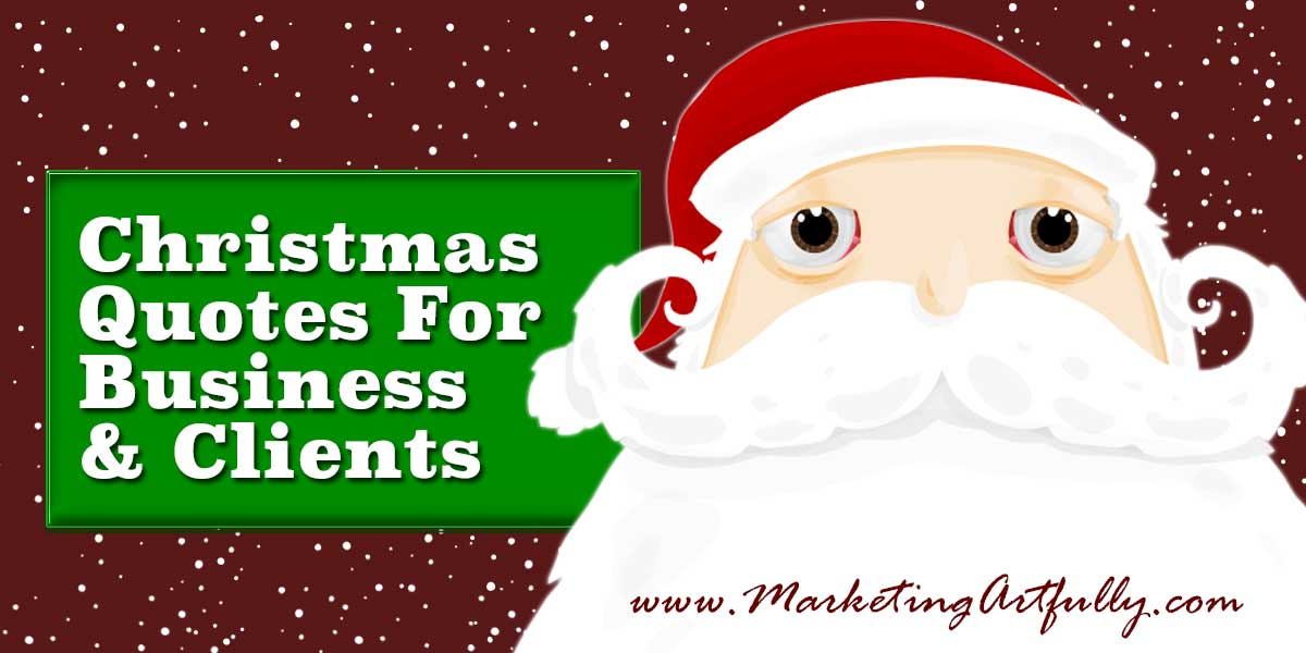 Business Christmas Quotes For Cards Gallery - Card Design And Card ...
