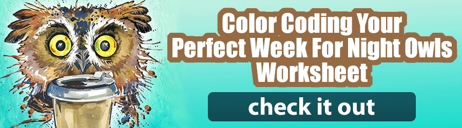 Color Coding Your Perfect Week For Night Owls
