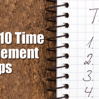 My Top 10 Time Management Tips