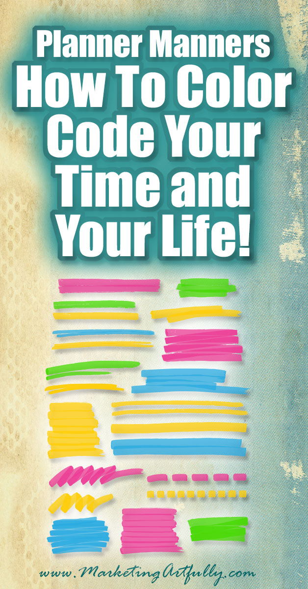 Planner Manners - How To Color Code Your Time and Your Life! Alrighty then, for those of you who have been stalking me for YEARS to make this video about calendaring and planner manners...this one is for you!