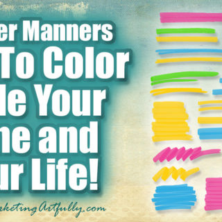 Planner Manners – How To Color Code Your Time and Your Life!