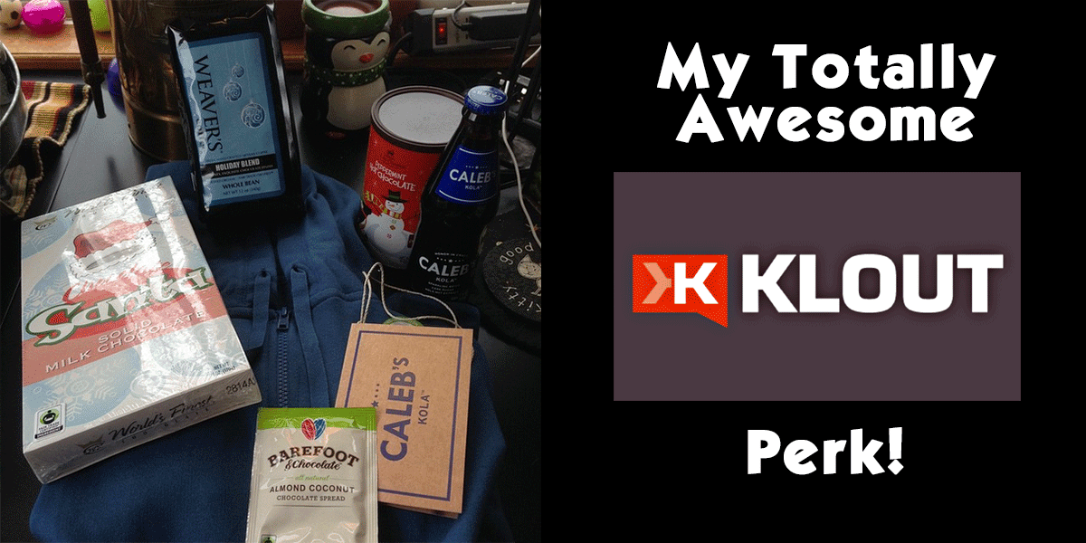 My totally awesome Klout perk