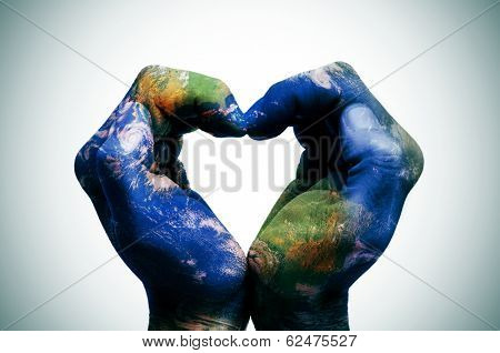 Big Stock Photo - Heart Hands