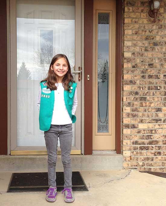 Door Knocking - Girl Scout Cookies