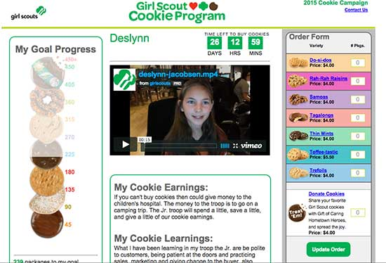 Girl Scout Website