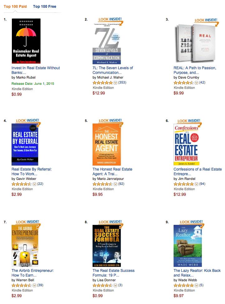 Amazon Page Mockup - Real Estate Marketing
