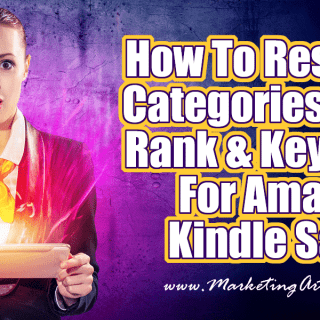 How To Research Categories, Sales Rank & Keywords For Amazon Kindle Sales | Author Marketing