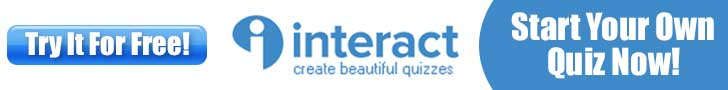 Interact Quiz Banner - Make Quizzes For Facebook