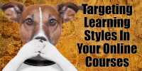 Targeting Learning Styles In Your Online Courses