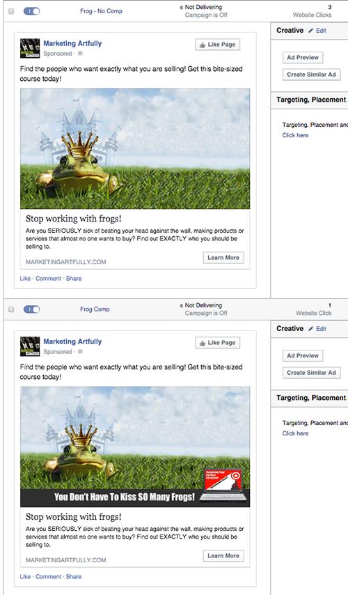 Frog Ads Facebook