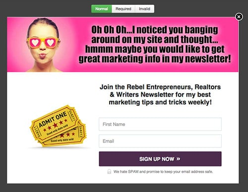 Fun kissy sunglasses   LeadBoxes Example Leadpages