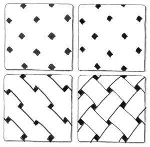 Real Zentangles