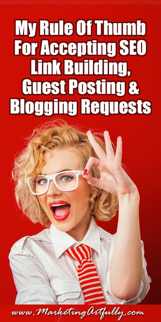 "My Rule Of Thumb For Accepting SEO Link Building, Guest Posting and Blogging Requests… So I have a very dear client who has been getting A LOT of requests to have guest posts, to ""swap links"" and the like. It is because his real estate investing website is getting a great following! But how do you know which ones you should do and which ones you should stay FAR away from?"