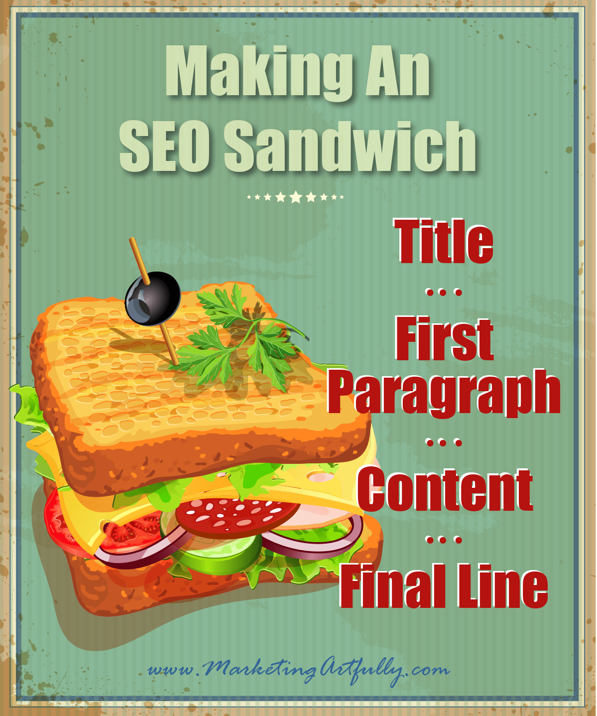 Making An SEO Sandwich