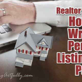 Real Estate Marketing – How To Write A Perfect Listing Blog Post