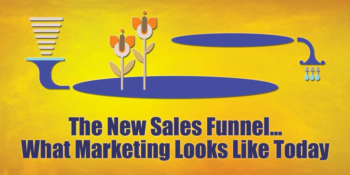 The New Sales Funnel - What Marketing Looks Like Today
