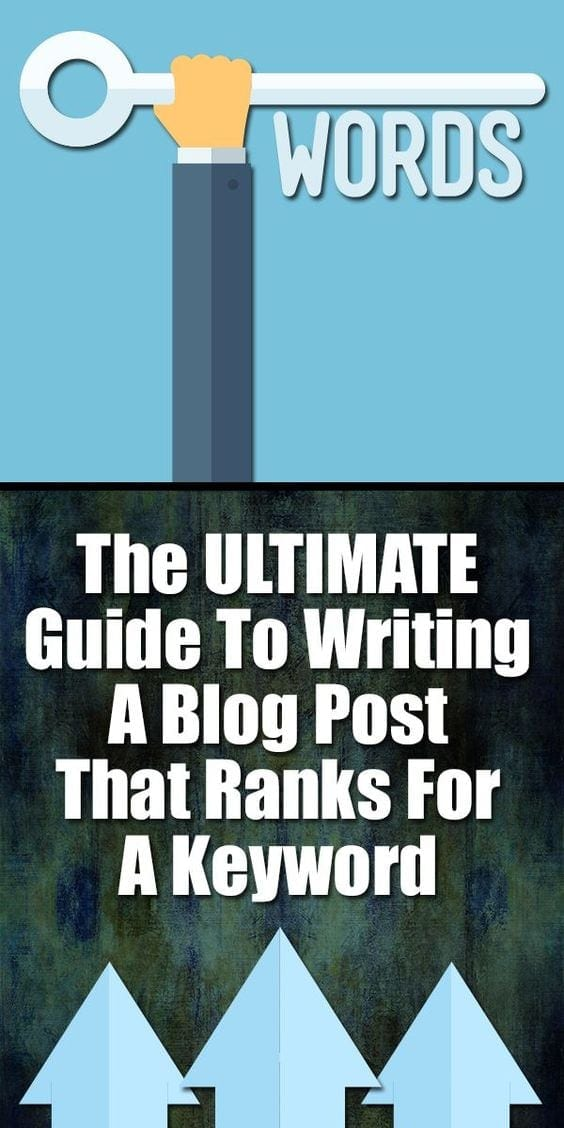 The ULTIMATE Guide To Writing A Blog Post That Ranks For A Keyword… Whether you are just starting your blog or are trying to get a post to rank for a particular keyword, today's keyword marketing article will walk you through all the steps of writing a post that will help your website rank for your chosen keyword (or two!)
