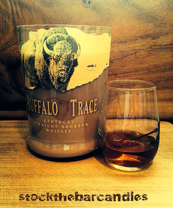 Soy Candle Bourbon Scent Buffalo Trace