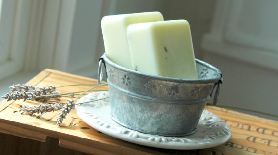 Lavender Lemon Soap . homemade soap . Glycerin Soap .