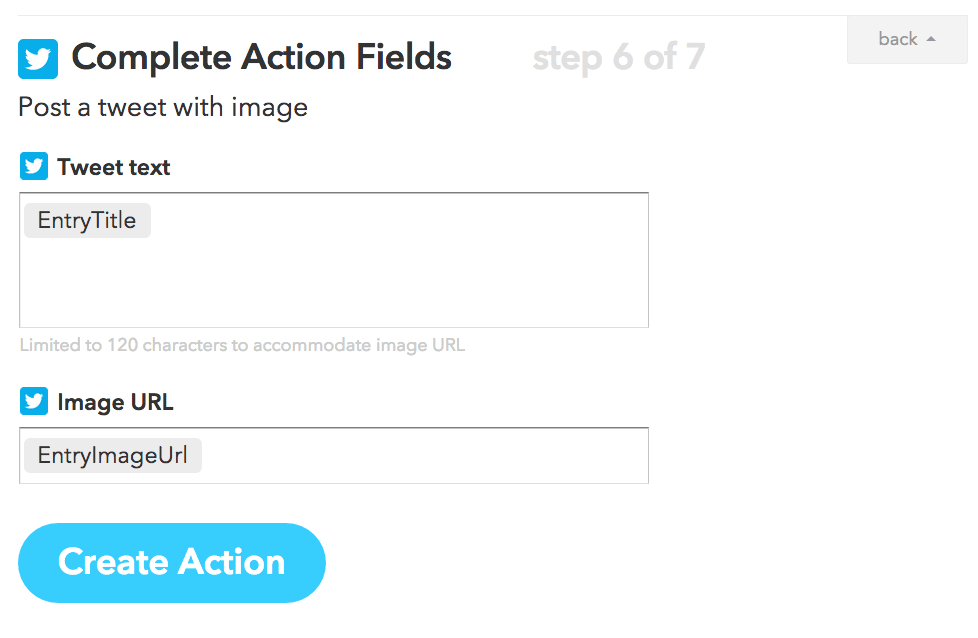 Create Action