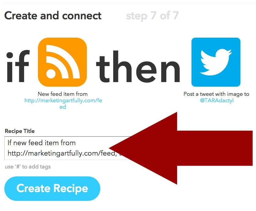 Final Create Recipe