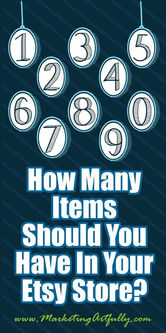 How Many Items Should You Have In Your Etsy Store?