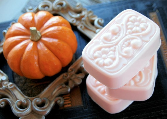Pumpkin Soap Product Photography