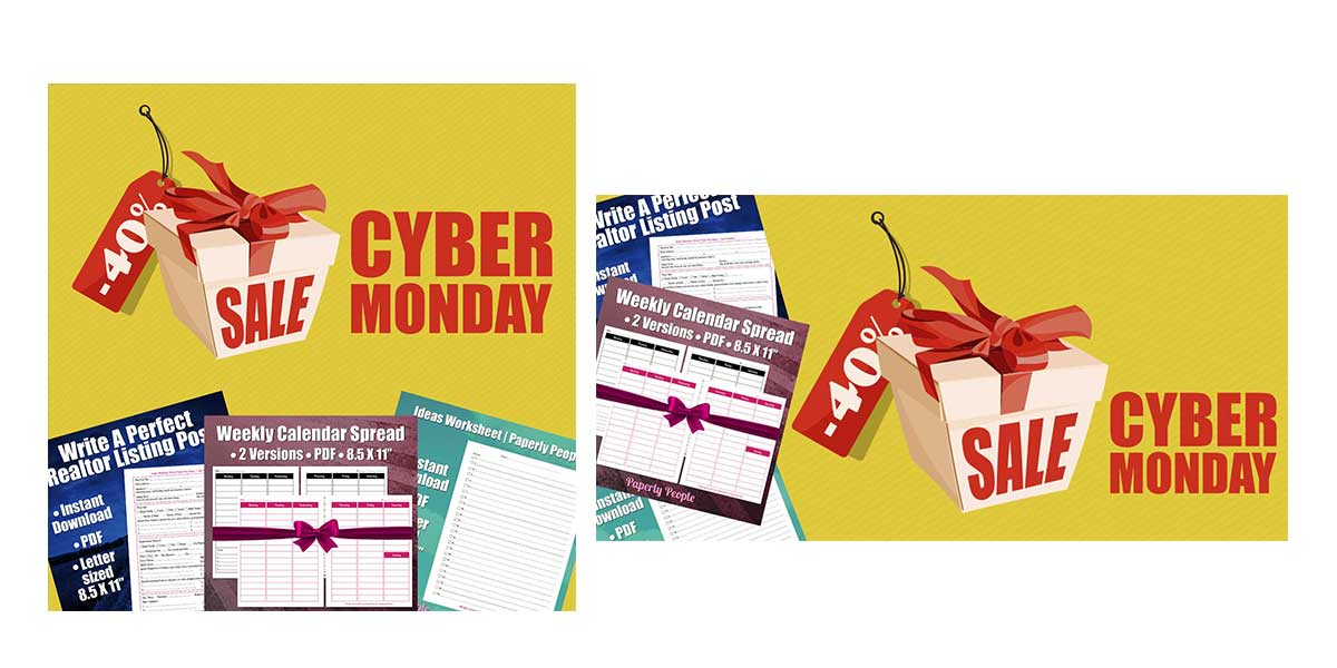 Cyber Monday Creatives