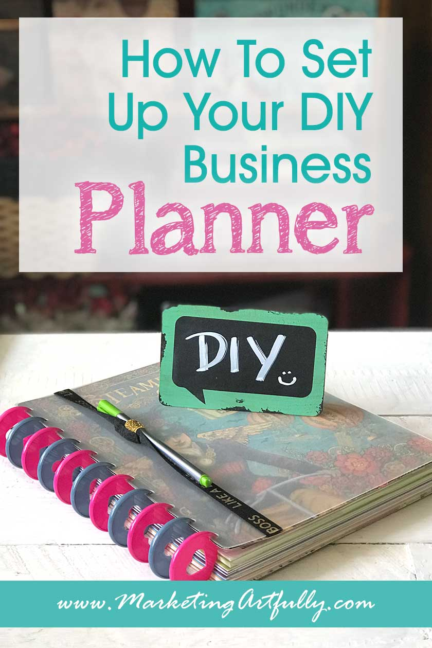 How To Set Up Your DIY Business Planner.. How to set up your DIY business planner. Includes tips and ideas for dividers, sections, dashboards and more!