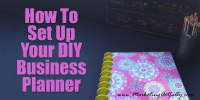 How To Set Up Your DIY Business Planner