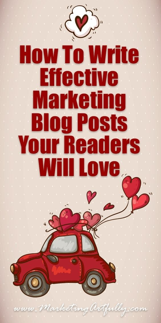 How To Write Effective Marketing Blog Posts Your Readers Will Love | Content Marketing Tips… Writing blog posts is an AMAZING content marketing strategy. You probably have heard that writing lots of posts is a great way to get rankings in the search engines and to grow your tribe. But damn, it is hard to sit down every day or week, in front of your computer and figure out something to say!