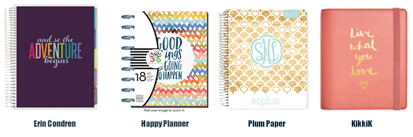 All The Pretty Planners