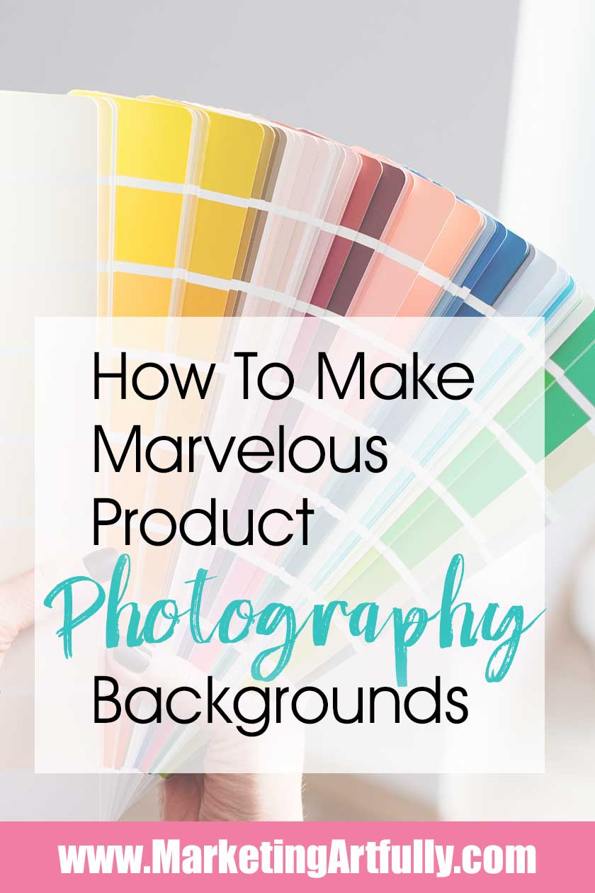 Tips and ideas for how to use different product photography backgrounds. DIY, lifestyle, flat lay setup shots. Inspiration for taking Etsy product pictures and styling ideas.
