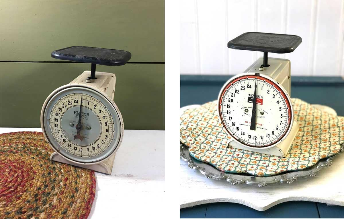 Old scale versus new scale