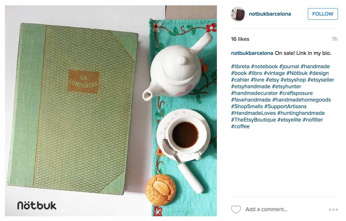 notbukbarcelona Flat Lay Photography Design - Books