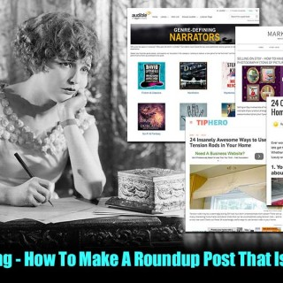 "Advanced Blogging - How To Make A Roundup Post That Is Super Sharable ... If you are thinking about kicking your blogging up to the the advanced level (like a post a day), the first thing that comes to mind is, ""how I am going to produce all that content?"" At least that is what happened to me when I decided that I was going to write a post a day on three of my different blogs (3 for Marketing Artfully a week, 2 for Glamorously Vintage a week and 2 for Paperly People a week)."