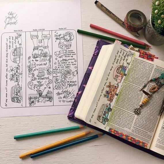 Bible Journaling Digital Download