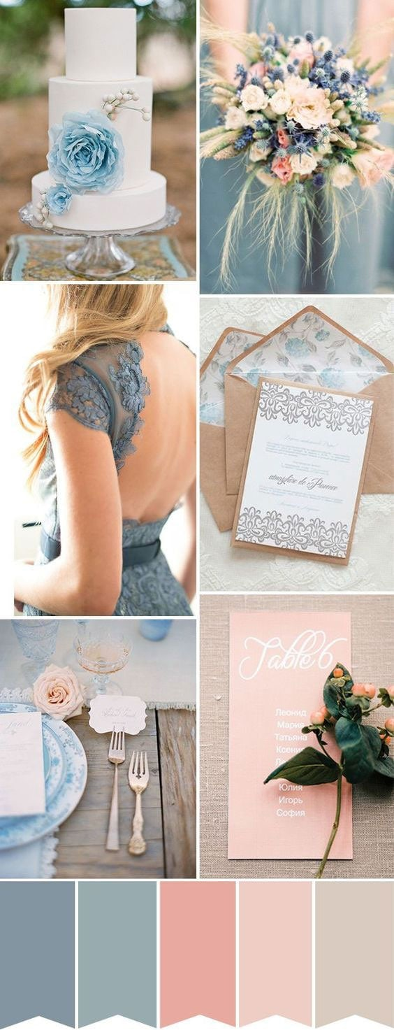 blue-preach-rose-wedding