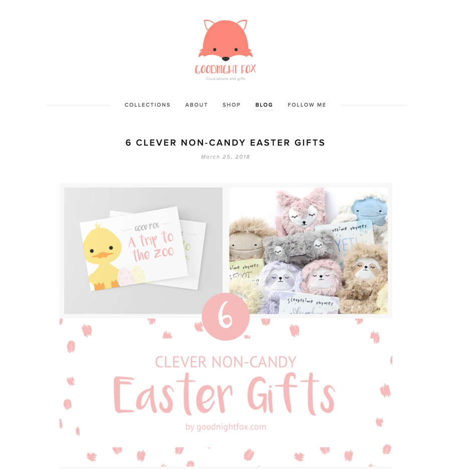 Non Candy Easter Roundup Post Example