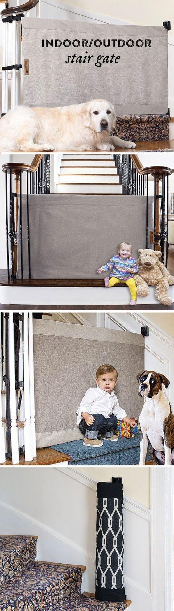 Indoor Outdoor Stair Gate