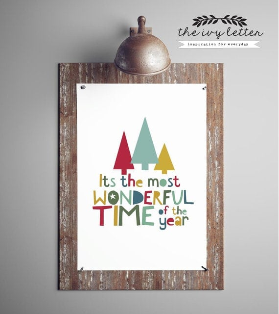 It's The Most Wonderful Time of the Year Digital Download File