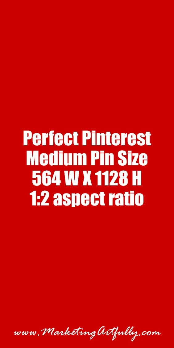 Perfect Medium Pin Size :: | Check out all my Pinterest pin size research... Pinterest Marketing - What Size Should Your Banners Be? (Lots of Examples)