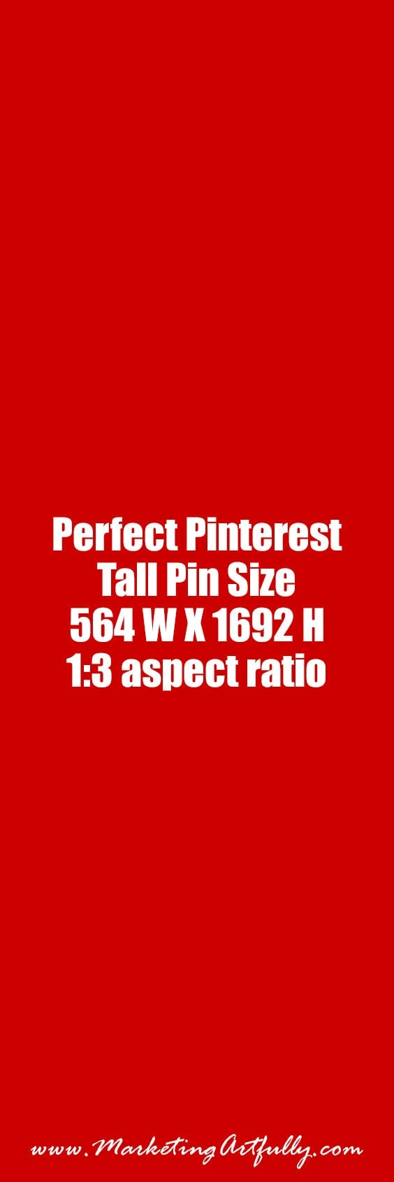 The Perfect Pinterest Tall Pin Size | Check out all my Pinterest pin size research... Pinterest Marketing - What Size Should Your Banners Be? (Lots of Examples)