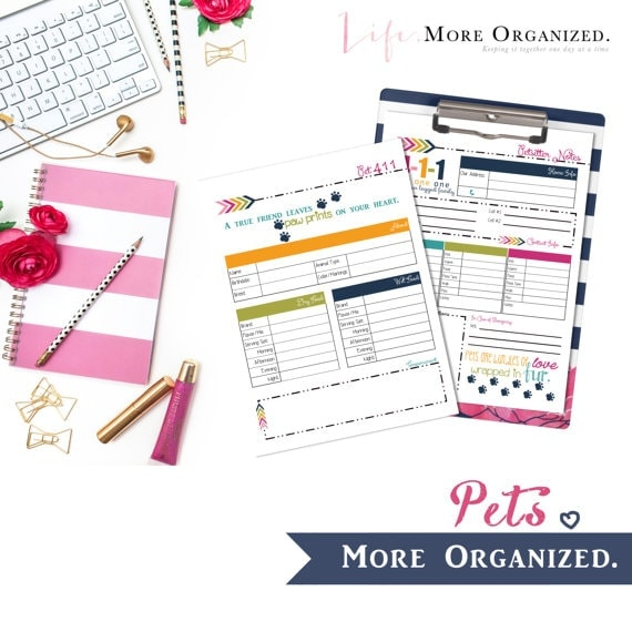 Pets More Organized